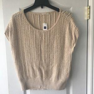 Gap Cap Sleeve Sweater NWT